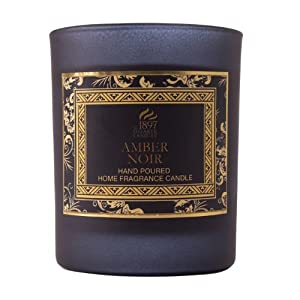 AMBER NOIR - Shearer Scented Candle - GLASS JAR - 30 Hours from Shearer Candles