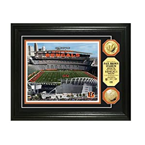 Paul Brown Stadium Gold Coin Photo Mint from The Highland Mint