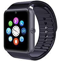 Joranlin Smart Watch Wireless Pedometer Sport Activity Tracker Smart Watch For Android And IOS Phone Black Black2