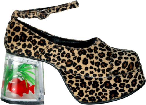 Halloween costume patterns adult cheetah fish tank for Fish tank shoes