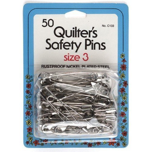 Safety Pins Amazon Quilter's Safety Pins Size 3