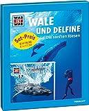 Geschenk-Set Wale und Delfine: WAS IST WAS Buch