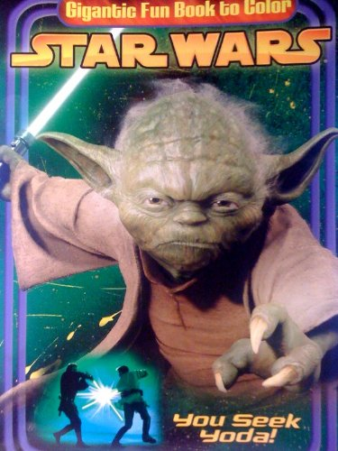 Star Wars YOU SEEK YODA! Gigantic Fun Book To Color (192 pages)