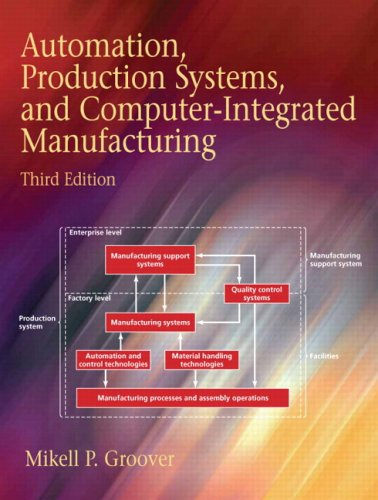 Automation, Production Systems, and Computer-Integrated Manufacturing (3rd Edition)