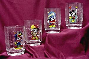 McDonalds - Disney Millenium Glasses - Happy Meal Set - 2000