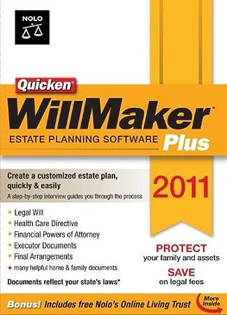 Quicken WillMaker Plus 2011 [Download] [OLD VERSION]