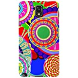 For Samsung Galaxy Note 3 :: Samsung Galaxy Note III :: Samsung Galaxy Note 3 N9002 :: Samsung Galaxy Note N9000 N9005 Colorful Circle Flower ( Colorful Circle Flower, Circle Flower Mandalas Seamless Pattern, Pattern, Seamless Patten ) Printed Designer Ba