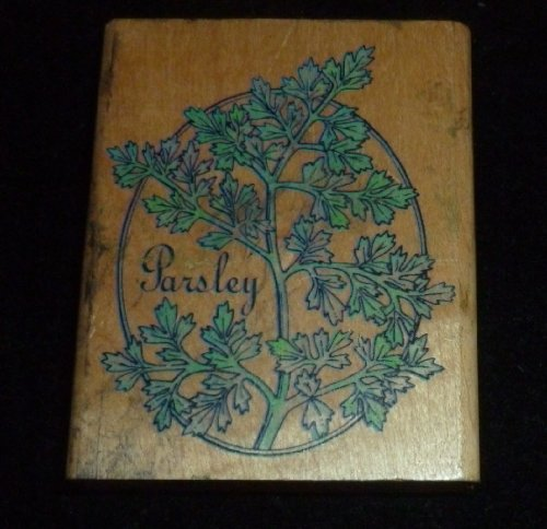 Parsley Rubber Stamp - 1