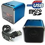 Mini Lautsprecher USB MicroSD Kartenl...