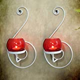 Tiedribbons® Candle Holder /Wall Sconce Holder Pack Of Pack Of 2(Metal)