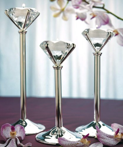 Diamond-Shaped-Tealight-Holders