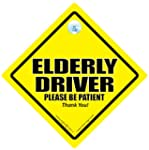 CAUTION ELDERLY DRIVER Car Safety Nov...