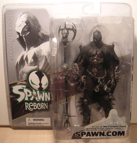 Mcfarlane Spawn Reborn Series #1 Action Figure Raven Spawn