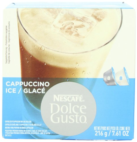 Shop for Nescafé Dolce Gusto Cappuccino Ice, 16 Capsules (8 Servings) from Nestlé