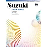 Suzuki Violin School Violin Part with CD Volume 2by Dr Shinichi Suzuki