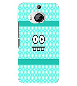 Printdhaba Cartoon D-4888 Back Case Cover For Htc One M9 Plus
