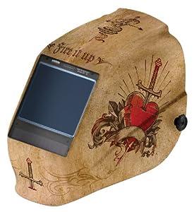 Jackson Safety 30314 Tattoo HLX Welding Helmet with TrueSight Digital ADF (Case of 2) by Kimberly-Clark Professional