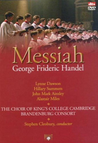 Handel Messiah - The Choir of King's College Cambridge - Brandenburg Consort[DVD] [2005]