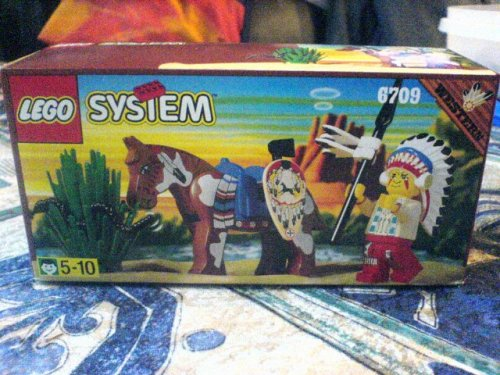 LEGO System 6709 Western Indianerhäuptling