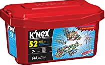 K'NEX - 52 Model Building Set - 618 Pieces - Ages 7+ Engineering Education Toy