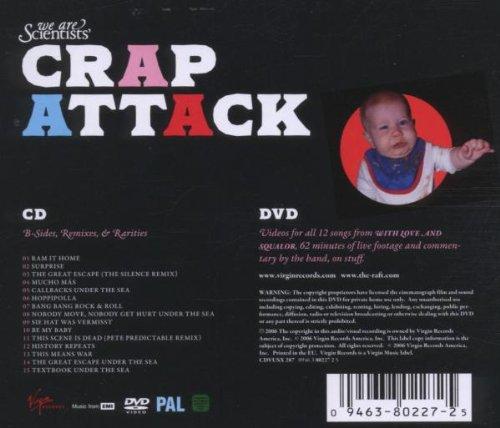 Original album cover of Crap Attack by We Are Scientists