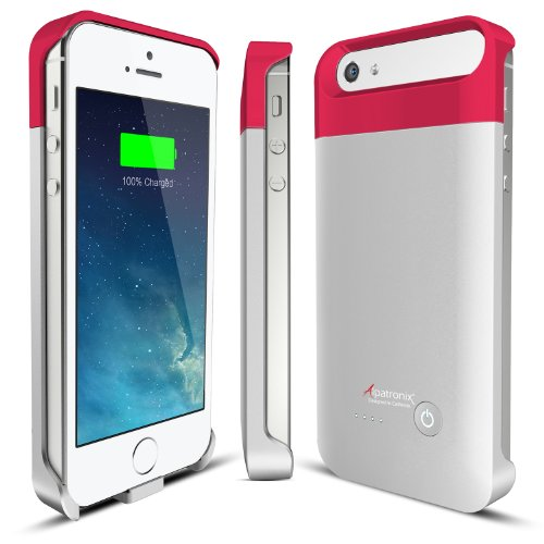 Alpatronix Bx110 Ultra-Slim Protective Extended Iphone 5S / Iphone 5 Battery Charging Case With Removable & Rechargeable Power Cover [Fits All Models Of The Apple Iphone 5 & Iphone 5S / Full Ios 7+ Compatible Support / 2000Mah Battery Capacity / No Signal