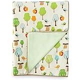 Skip Hop Nursery Blanket, Treetop Friends (Discontinued by Manufacturer)