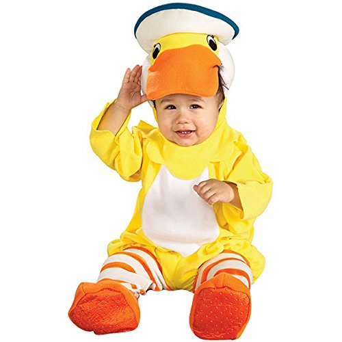 Newborn Baby Rubber Ducky Duck Costume (Sz:0-6M)