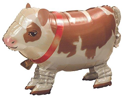 "Mayflower BB55778 25"" Cute Cow Buddy Airwalker Balloon -Each"