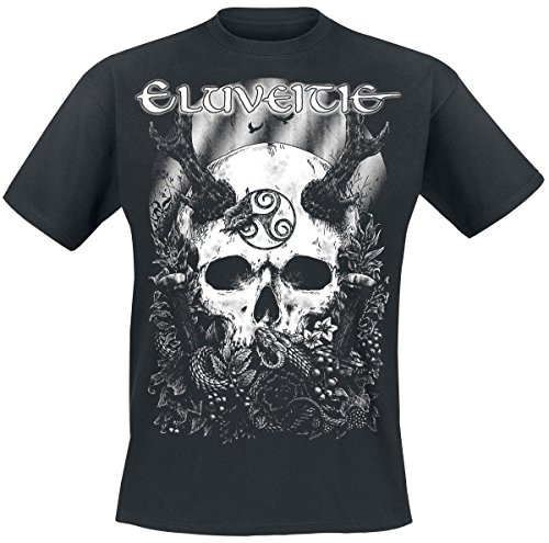 Eluveitie The Antlered One T-Shirt nero M