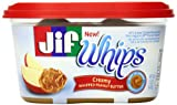 Jif Whipped Creamy Peanut Butter, 15 Ounce