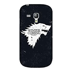 Premier Winter Comes Back Case Cover for Galaxy S3 Mini