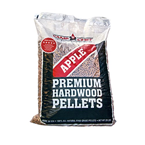 Camp Chef Bag of Premium Hardwood Applewood Pellets for Smoker, 20 lb. (Pellet Wood Smoker compare prices)