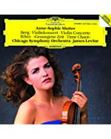 Berg: Violin Concerto / Rihm: Time Chant (1991/92)