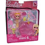 Barbie Mini B. #36 Doll with Pink Lips Case & Pet
