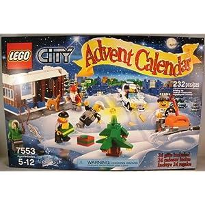 #!Cheap LEGO 2011 City Advent Calendar 7553