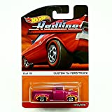CUSTOM '56 FORD TRUCK (8 of 18) * Redlines / Heritage Series * 2015 Hot Wheels 1:64 Scale Die-Cast Vehicle
