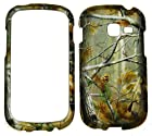 2D Camo Deer Realtree Samsung Galaxy Centura S738C / Discover S730G Cricket, Net 10 Straight Talk Case Cover Hard Phone Case Snap-on Cover Rubberized Touch Faceplates