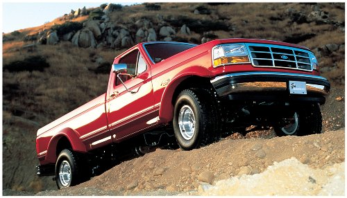 Bushwacker Ford Extend-A-Fender Flare Set of 4 (1992 Ford F250 Fender Flares compare prices)
