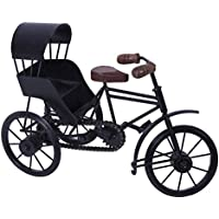 Desi Karigar Home Decorative Metal Art Work Of Miniature Rickshaw