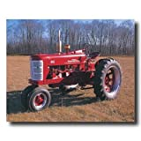Vintage 1955 Farmall 400 Farm Tractor Home Decor Wall Picture 16x20 Art Print
