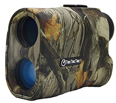 TecTecTec ProWild Hunting Rangefinder - Laser Range Finder for Hunting with Speed, Scan and Normal measurements by TecTecTec
