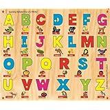 Kinder Creative-KCL-18-Learning Alphabet (fun Of 5 FBVAS)(Multicolour)