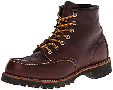 Red Wing Heritage Men's 8146 6-Inch Moc Toe Lug Boot,Brown,7 D US