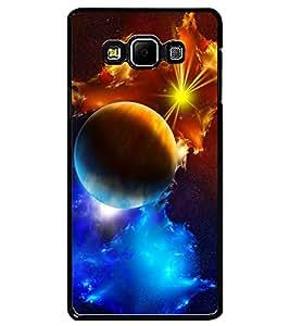 ColourCraft The Galaxy Design Back Case Cover for SAMSUNG GALAXY A7
