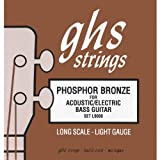 GHS Strings Acoustic Bass Set (Light, Phosphor Bronze, Long Scale)