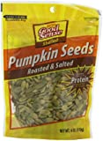 Good Sense Roasted and Salted Pumpkin Seeds, Shelled, 6-Ounce Bags (Pack of 12)