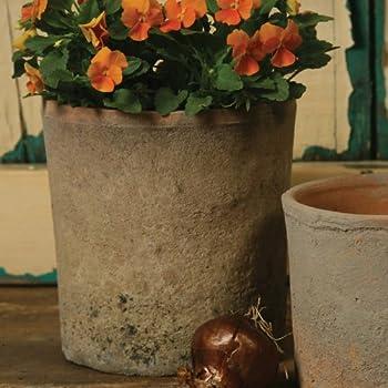 Rustic Terra Cotta Cylinder, Large