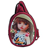 Bagathon India Magic Eye Girls Backpack [Brown] FEB02(Design May Vary)