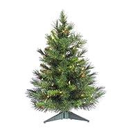 Vickerman A801001 Christmas Tree, 24″…